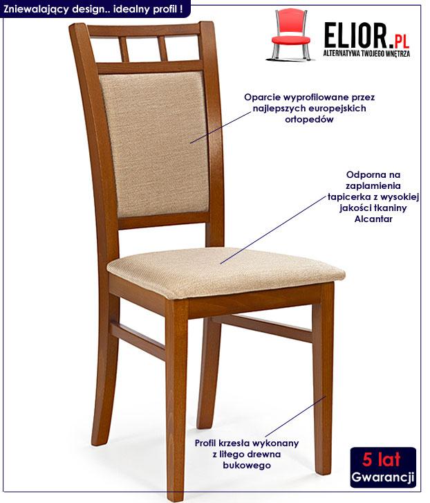 krzesło drewniane Miguel