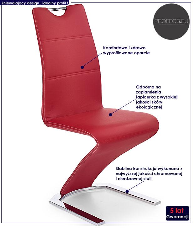 nowoczesne krzesło Yorker