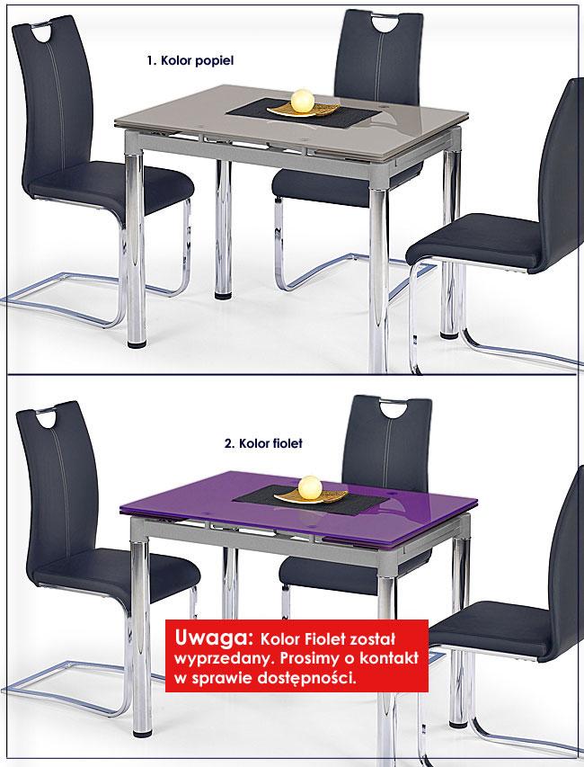 stół szklany Promex