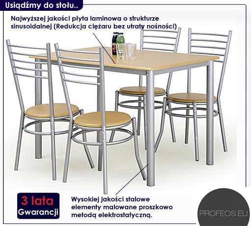 stół z krzesłami Astron