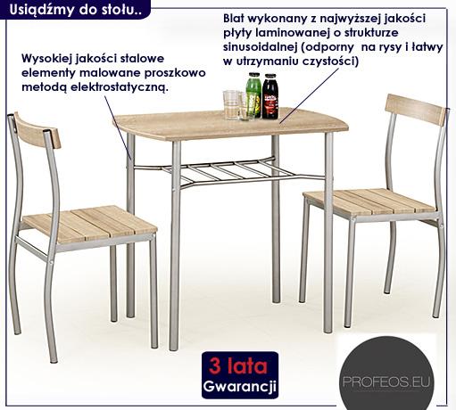 Stół z krzesłami Twiner
